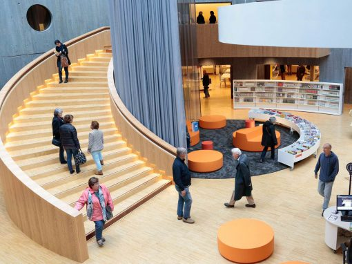 Oscar Niemeyer Médiathèque- Le Havre