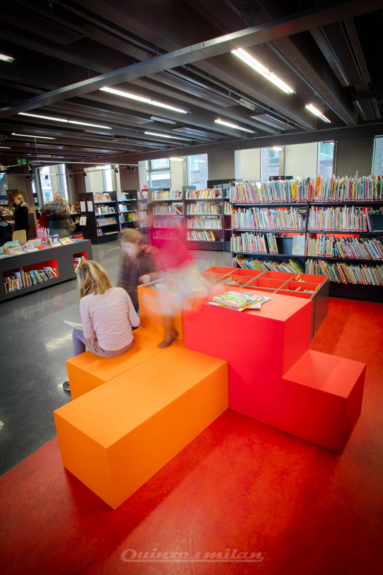 Library De Munt Roeselare 2016 -17