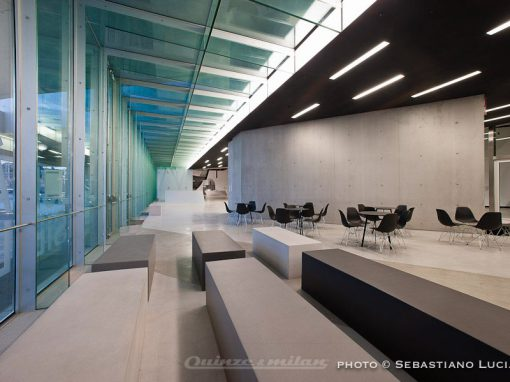 Maxxi Museum Roma – Infinity seating solution –
