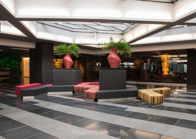 Custom upholsterd seating solution - Den Haag