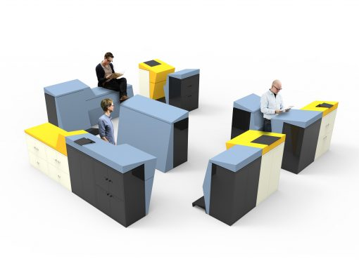 LEAN office furniture system – with Maine